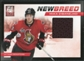 2011/12 Panini Elite New Breed Materials #16 Mika Zibanejad