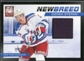 2011/12 Panini Elite New Breed Materials #36 Derek Stepan