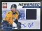 2011/12 Elite New Breed Materials Autographs #25 Jonathon Blum RC Autograph /50