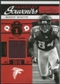 2011 Timeless Treasures Game Day Souvenirs 1st Quarter #8 Roddy White /115