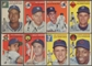 1954 Topps Baseball Starter Set (82 Different) EX+/EX-MT