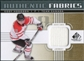 2011/12 Upper Deck SP Game Used Authentic Fabrics Gold #AFCH4 Cody Hodgson O D
