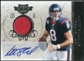 2011 Panini Plates and Patches Jersey Autographs #8 Matt Schaub /5