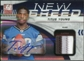 2011 Panini Donruss Elite New Breed Jersey Autographs Prime #32 Titus Young Patch /10