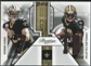2011 Panini Prestige Connections Materials #10 Drew Brees/Marques Colston /250