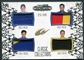 2012 Press Pass Showcase Quad Sheet Metal #MMWR Mark Martin Martin Truex Jr Michael Waltrip Clint Bowyer 25/99
