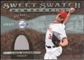 2009 Upper Deck Sweet Spot Swatches #JW Jered Weaver