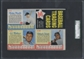 1962 Post Cereal Baseball Panel Mickey Mantle - Ed Mathews - Cepeda SGC 40 (VG 3) *2029