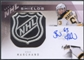 2009/10 The Cup #DS2MC Logan Couture Brad Marchand NHL Shields Dual Patch Auto #1/1