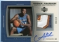 2005/06 Upper Deck Trilogy Rookie Premiere Patches Autographs #AB Andray Blatche Autograph 6/10