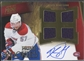 2011/12 Panini Prime #130 Blake Geoffrion Rookie Jersey Auto #081/199