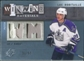 2009/10 Upper Deck SPx Winning Materials Spectrum Patches #WMLU Luc Robitaille /50