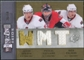 2009/10 Upper Deck SPx Winning Trios #WTOTT Jason Spezza Pascal Leclaire Nick Foligno /50