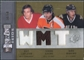 2009/10 Upper Deck SPx Winning Trios #WTQUE Simon Gagne Guy Lafleur Mike Ribeiro 14/50