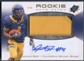 2010 SPx #105 Jahvid Best Rookie Patch Auto Silver #10/10