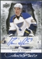 2008/09 Upper Deck Artifacts Autofacts #AFDA David Perron Autograph
