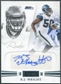 2011 Panini Playbook Gold #92 K.J. Wright RC Autograph /49