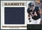 2011 Panini Playbook Mammoth Materials #6 Brian Urlacher /99