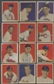 1949 Bowman Baseball Starter Set (24 Different) EX