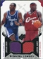 2004/05 Upper Deck SPx Winning Materials Combos #BJ Kobe Bryant LeBron James