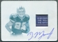 2011 Panini Plates and Patches Printing Plates Cyan #222 DeMarco Murray Jersey Autograph 1/1