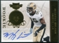 2011 Plates and Patches Signatures Gold #153 Martez Wilson RC Autograph /25