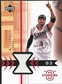 2003/04 Upper Deck Standing O Swatches #AIPH Allen Iverson