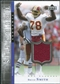 2001 Upper Deck Legends Timeless Tributes Jersey #TTBS Bruce Smith