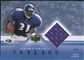2001 Upper Deck Championship Threads #CTJL Jamal Lewis