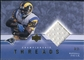 2001 Upper Deck Championship Threads #CTMF Marshall Faulk