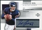 2004 Upper Deck Finite HG Signatures #FSRG Rex Grossman Autograph