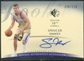 2007/08 Upper Deck SP Authentic Rookie Autographs #122 Spencer Hawes RC Autograph /599