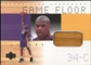 2000/01 Upper Deck Hardcourt Game Floor #SOF Shaquille O'Neal