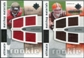 2007 Upper Deck Ultimate Collection Rookie Materials Matchup #AT Gaines Adams/Joe Thomas /99