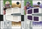 2007 Upper Deck Ultimate Collection Rookie Materials Matchup #SP Antonio Pittman/Troy Smith /99