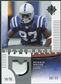 2007 Upper Deck Ultimate Collection Game Patches #UGPRW Reggie Wayne /99