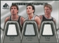 2007/08 Upper Deck SP Game Used Authentic Fabrics Triple #BMK Beno Udrih/Manu Ginobili/Steve Kerr /50