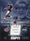 2005 Upper Deck ESPN Sports Center Swatches #RG Rex Grossman