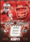 2005 Upper Deck ESPN Sports Center Swatches #TY Tony Gonzalez