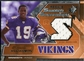 2005 Upper Deck SPx Rookie Swatch Supremacy #RSTW Troy Williamson