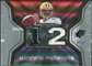 2007 Upper Deck SPx Winning Materials Jersey Number #WMAR Aaron Rodgers