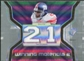 2007 Upper Deck SPx Winning Materials Jersey Number Dual #WMBA Tiki Barber