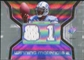 2007 Upper Deck SPx Winning Materials Jersey Number Dual #WMCJ Calvin Johnson