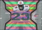 2007 Upper Deck SPx Winning Materials Jersey Number Dual #WMRO Ronnie Brown