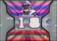 2007 Upper Deck SPx Winning Materials Jersey Number Dual #WMSR Sidney Rice