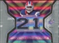 2007 Upper Deck SPx Winning Materials Jersey Number Dual #WMWM Willis McGahee