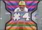 2007 Upper Deck SPx Winning Materials Jersey Number Dual #WMBF2 Brett Favre
