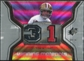2007 Upper Deck SPx Winning Materials Stat #WMSJM Joe Montana