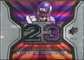 2007 Upper Deck SPx Winning Materials Stat #WMSSR Sidney Rice
