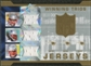 2007 Upper Deck SPx Winning Trios Jerseys #BMB Tom Brady Laurence Maroney Tedy Bruschi